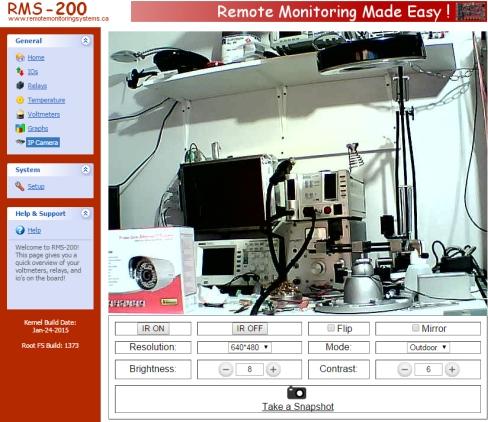 External Web Camera Project