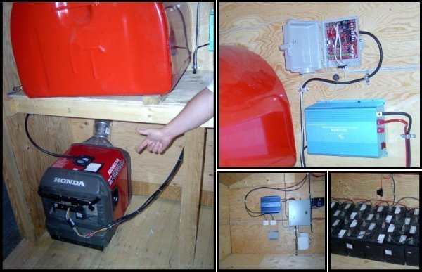 remote start a honda generator generator installed at remote site